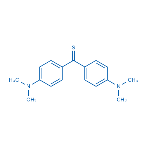 Bis(4-(dimethylamino)phenyl)methanethione (Sensitive spectrophotometric reagent for Au.etc, use for the determination of residual chlorine)