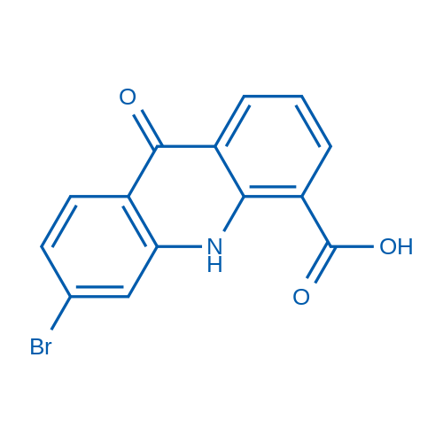 6-Bromo-9-oxo-9,10-dihydroacridine-4-carboxylic acid