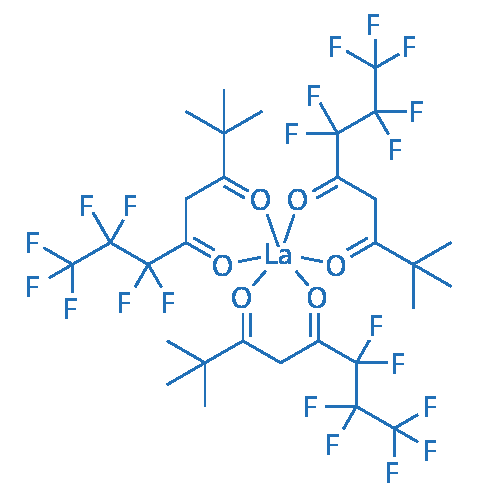 Tris(6,6,7,7,8,8,8-heptafluoro-2,2-dimethyl-3,5-octanedionate)lanthanum(III)