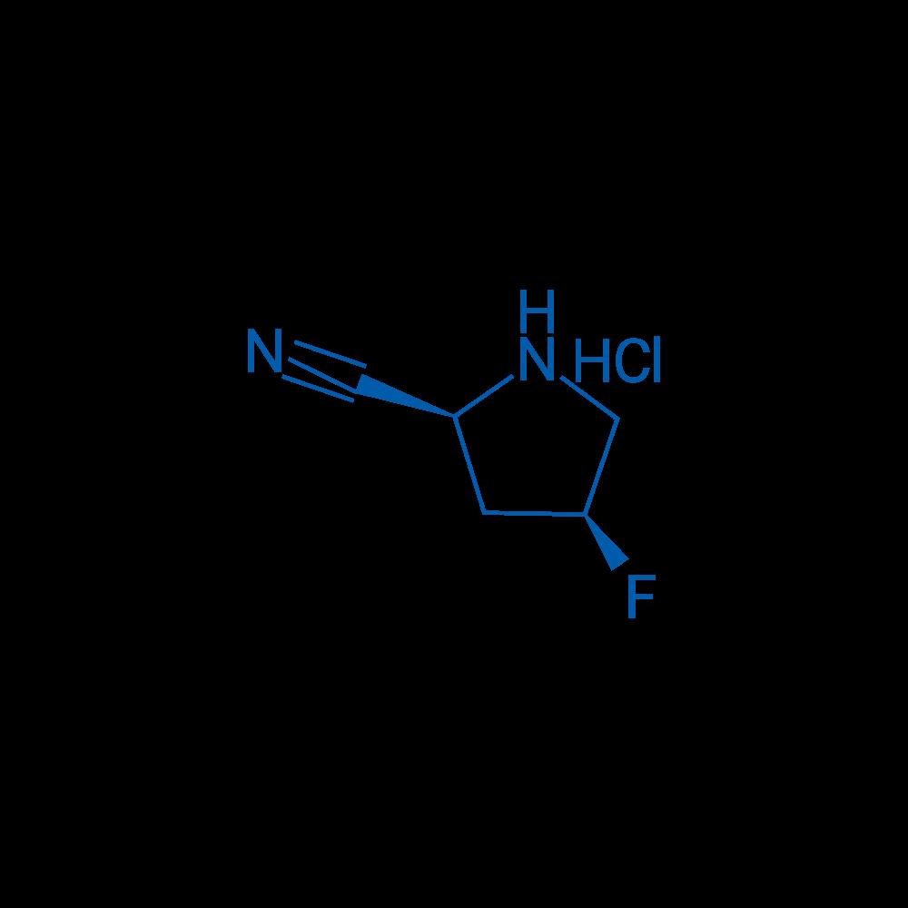 (2S,4S)-4-Fluoropyrrolidine-2-carbonitrile Hydrochloride