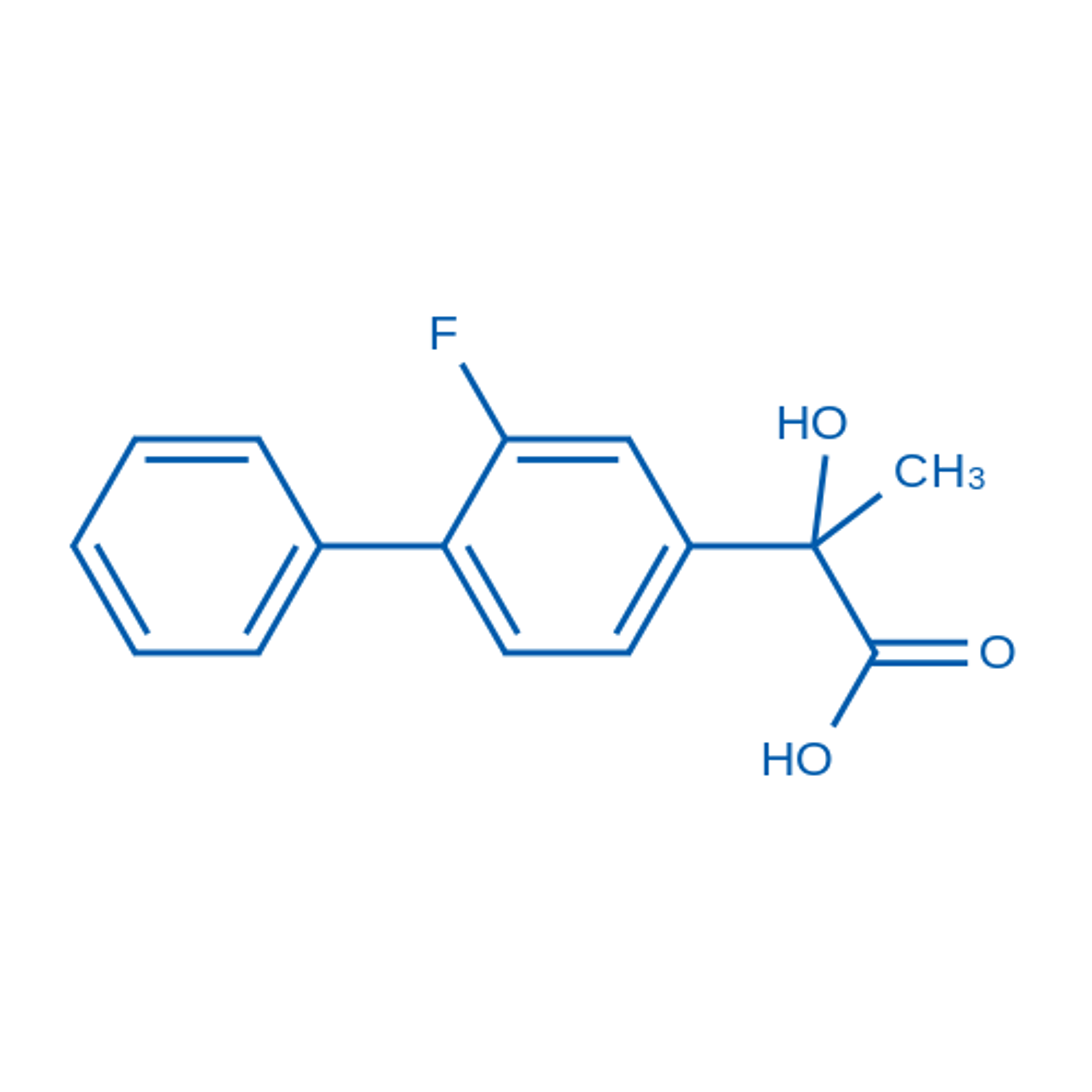 2-(2-Fluoro-[1,1'-biphenyl]-4-yl)-2-hydroxypropanoic acid