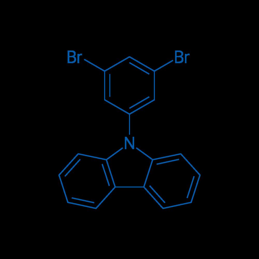 9-(3,5-Dibromophenyl)-9H-carbazole