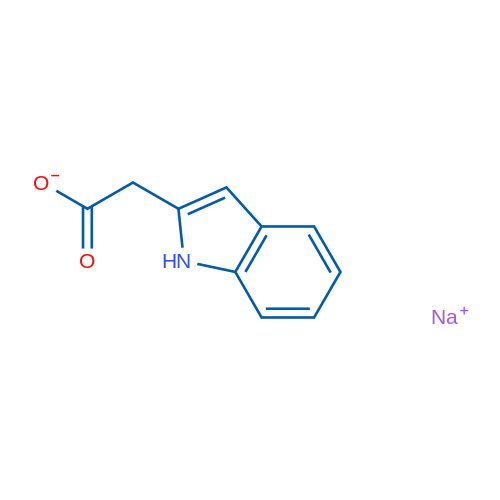 Sodium 2-(1H-indol-2-yl)acetate