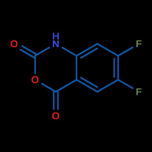 6,7-Difluoro-1H-benzo[d][1,3]oxazine-2,4-dione