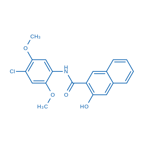 N-(4-Chloro-2,5-dimethoxyphenyl)-3-hydroxy-2-naphthamide