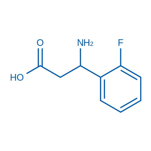 3-Amino-3-(2-fluorophenyl)propanoic acid