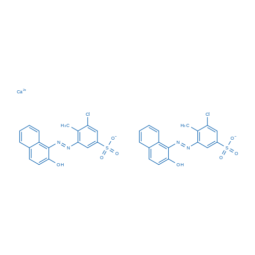 Calcium 3-chloro-5-((2-hydroxynaphthalen-1-yl)diazenyl)-4-methylbenzenesulfonate