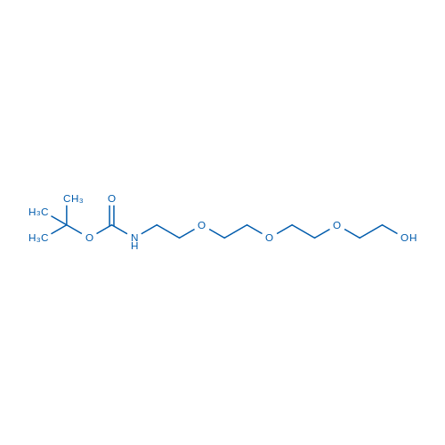 tert-Butyl (2-(2-(2-(2-hydroxyethoxy)ethoxy)ethoxy)ethyl)carbamate