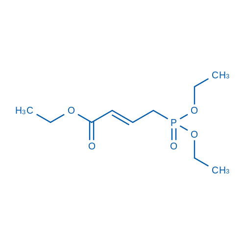 Ethyl 4-(diethoxyphosphoryl)but-2-enoate