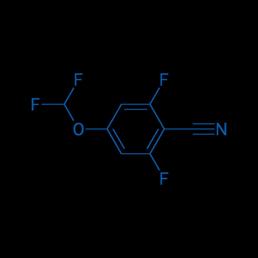 4-(Difluoromethoxy)-2,6-difluorobenzonitrile