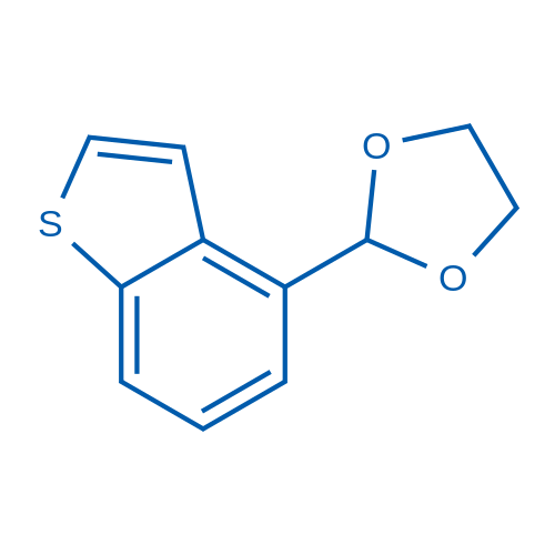2-(Benzo[b]thiophen-4-yl)-1,3-dioxolane