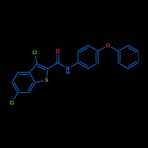 3,6-Dichloro-N-(4-phenoxyphenyl)benzo[b]thiophene-2-carboxamide