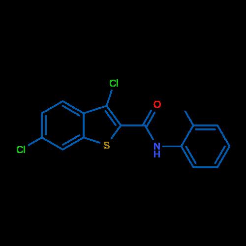 3,6-Dichloro-N-(o-tolyl)benzo[b]thiophene-2-carboxamide