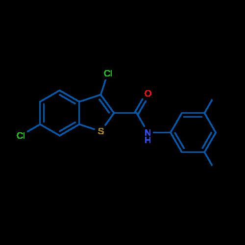 3,6-Dichloro-N-(3,5-dimethylphenyl)benzo[b]thiophene-2-carboxamide