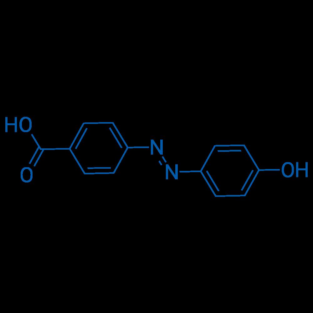 (E)-4-((4-Hydroxyphenyl)diazenyl)benzoic acid