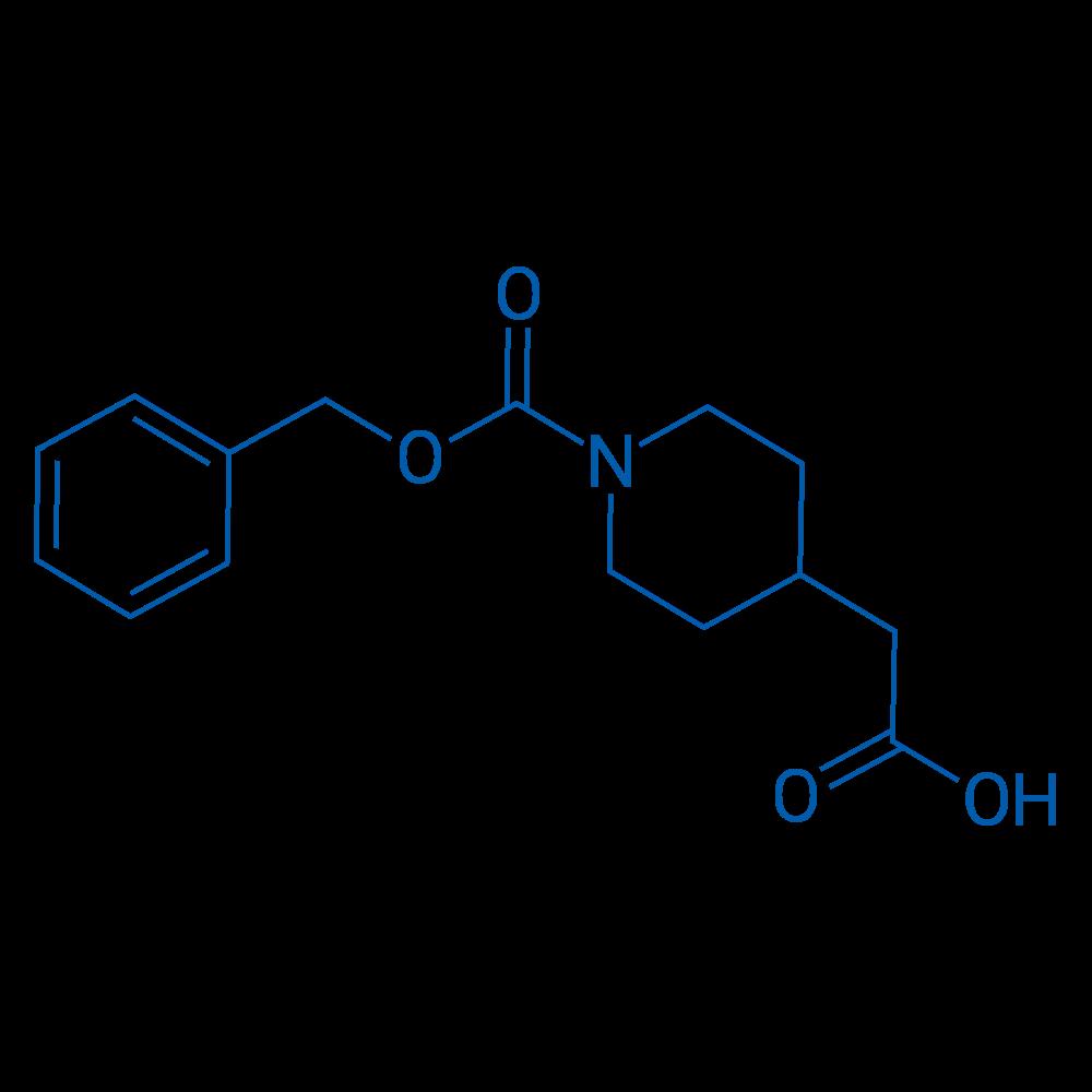 2-(1-((Benzyloxy)carbonyl)piperidin-4-yl)acetic acid