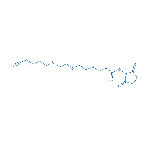 2,5-dioxopyrrolidin-1-yl 4,7,10,13-tetraoxahexadec-15-yn-1-oate
