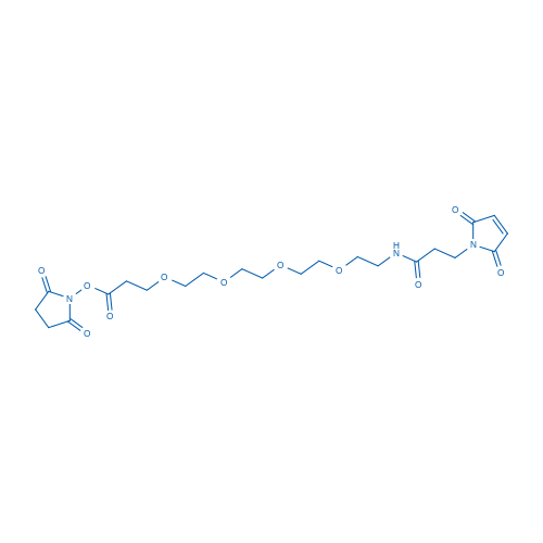 2,5-dioxopyrrolidin-1-yl 19-(2,5-dioxo-2H-pyrrol-1(5H)-yl)-17-oxo-4,7,10,13-tetraoxa-16-azanonadecan-1-oate
