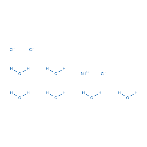 Neodymium chloride hexahydrate