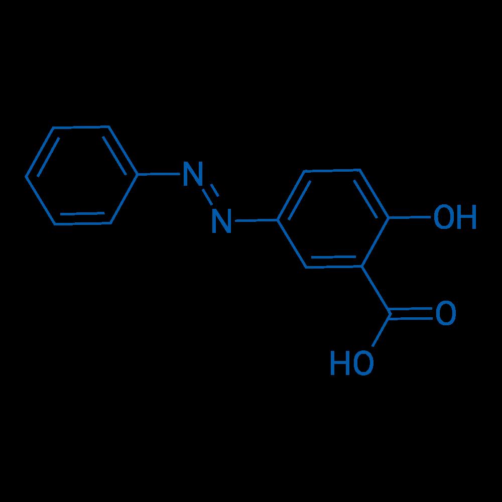 2-Hydroxy-5-(phenyldiazenyl)benzoic acid