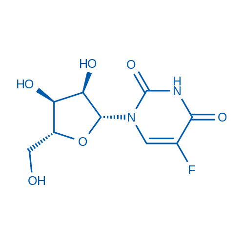 1-((2R,3R,4S,5R)-3,4-Dihydroxy-5-(hydroxymethyl)tetrahydrofuran-2-yl)-5-fluoropyrimidine-2,4(1H,3H)-dione