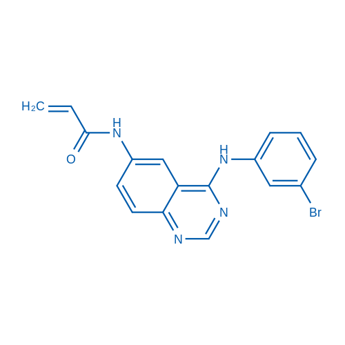 N-(4-((3-Bromophenyl)amino)quinazolin-6-yl)acrylamide