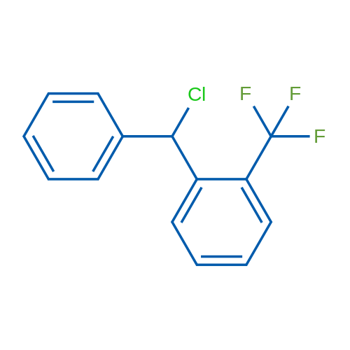 1-[Chloro(phenyl)methyl]-2-(trifluoromethyl)benzene