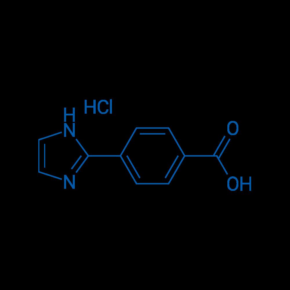 4-(1H-Imidazol-2-yl)benzoic acid hydrochloride
