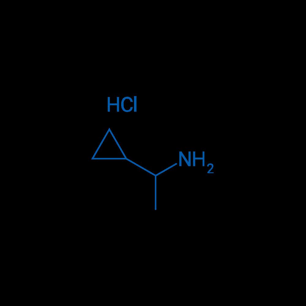 1-Cyclopropylethanamine hydrochloride