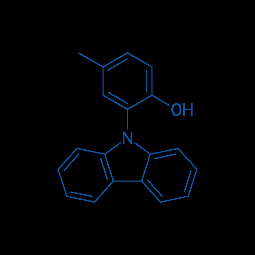 2-(9H-Carbazol-9-yl)-4-methylphenol