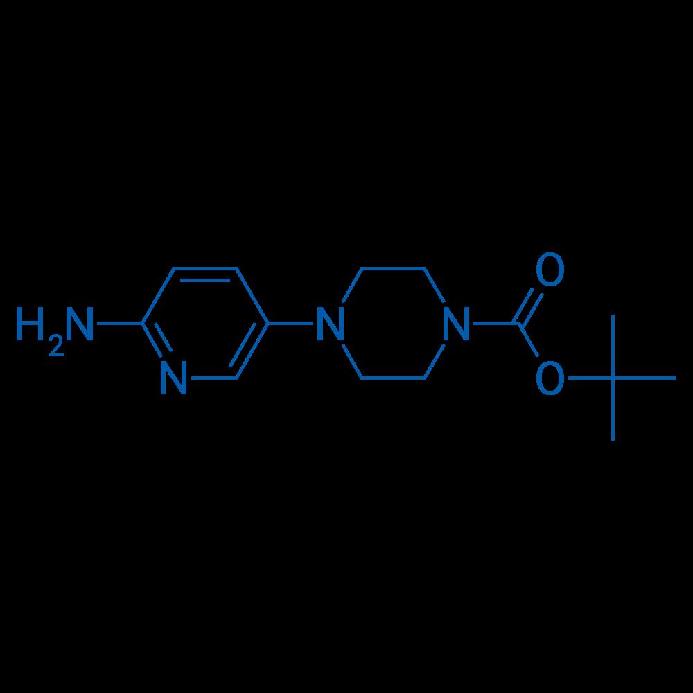 tert-Butyl 4-(6-aminopyridin-3-yl)piperazine-1-carboxylate