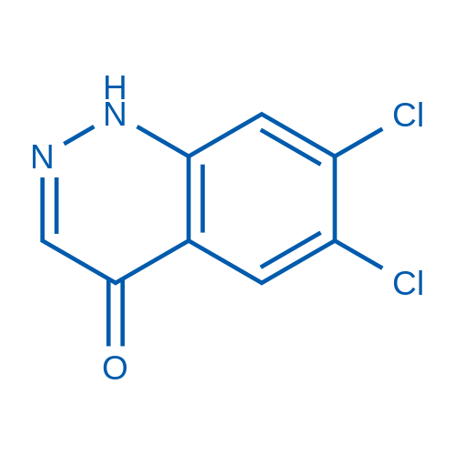 6,7-Dichlorocinnolin-4(1H)-one
