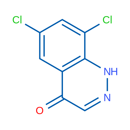 6,8-Dichlorocinnolin-4(1H)-one