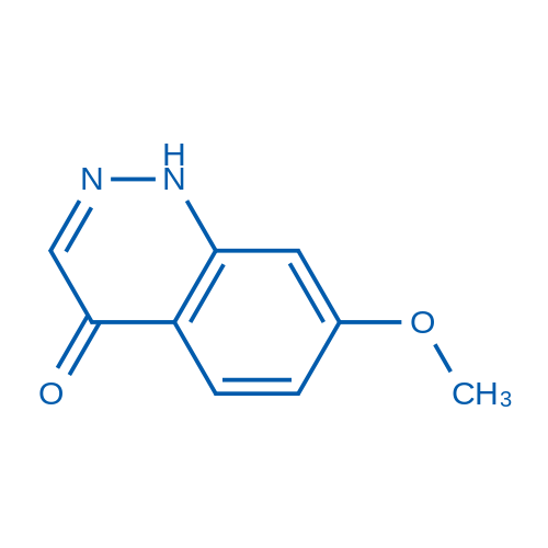 7-Methoxycinnolin-4(1H)-one