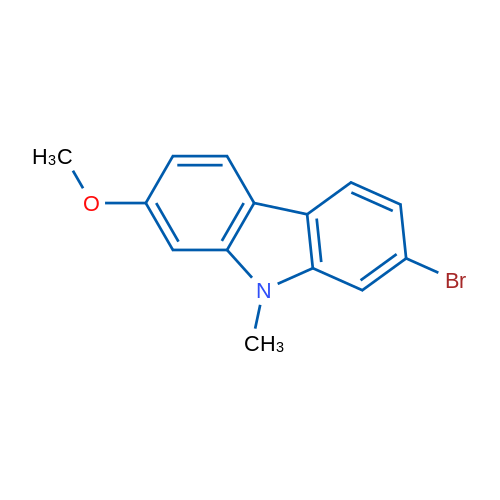 2-Bromo-7-methoxy-9-methyl-9H-carbazole