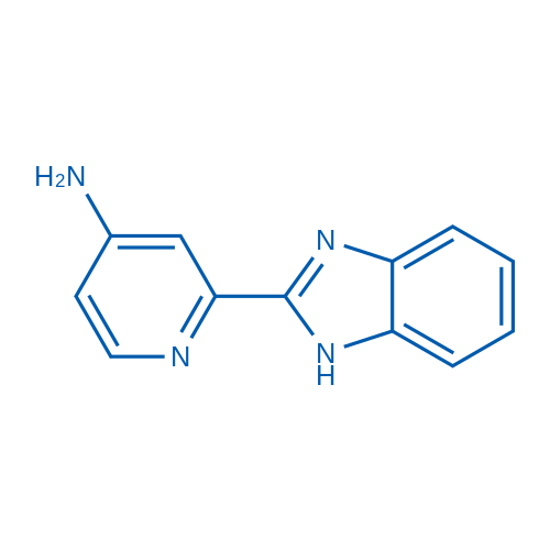 2-(1H-Benzo[d]imidazol-2-yl)pyridin-4-amine