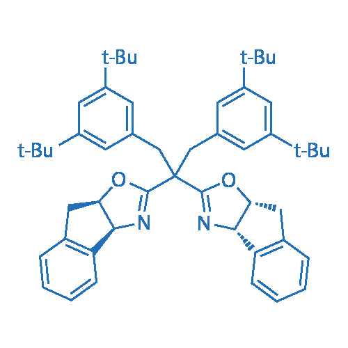 (3aS,3a'S,8aR,8a'R)-2,2'-(1,3-Bis(3,5-di-t-butylphenyl)propane-2,2-diyl)bis(8,8a-dihydro-3aH-indeno[1,2-d]oxazole)