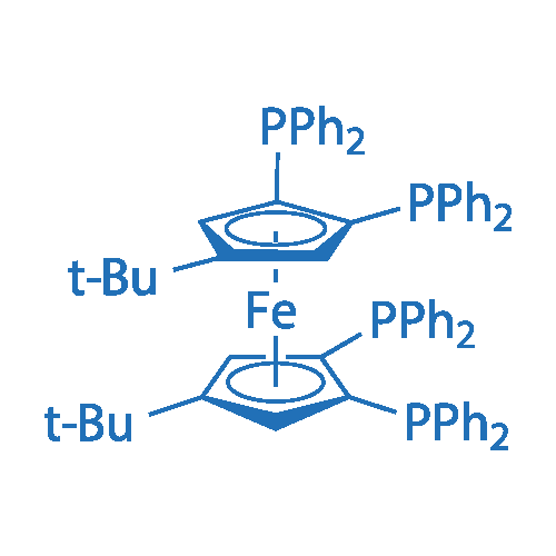 4,4'-Bis(t-butyl)-1,1',2,2'-tetrakis(diphenylphosphino)ferrocene