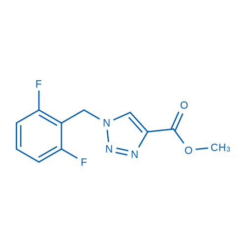 Methyl 1-(2,6-difluorobenzyl)-1H-1,2,3-triazole-4-carboxylate