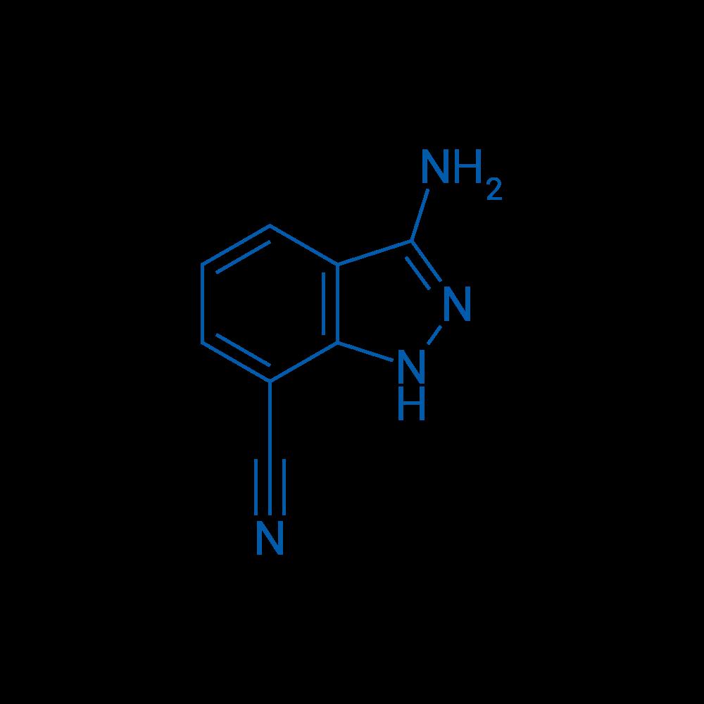 3-Amino-1H-indazole-7-carbonitrile