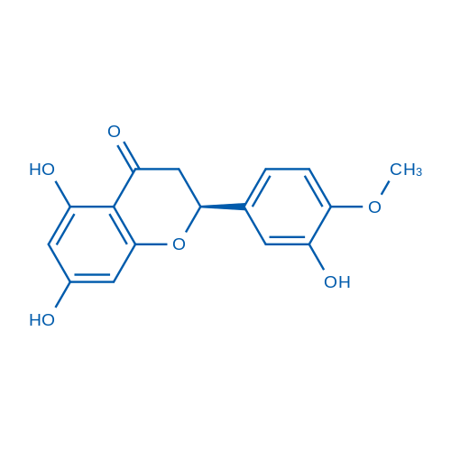 (S)-5,7-Dihydroxy-2-(3-hydroxy-4-methoxyphenyl)chroman-4-one