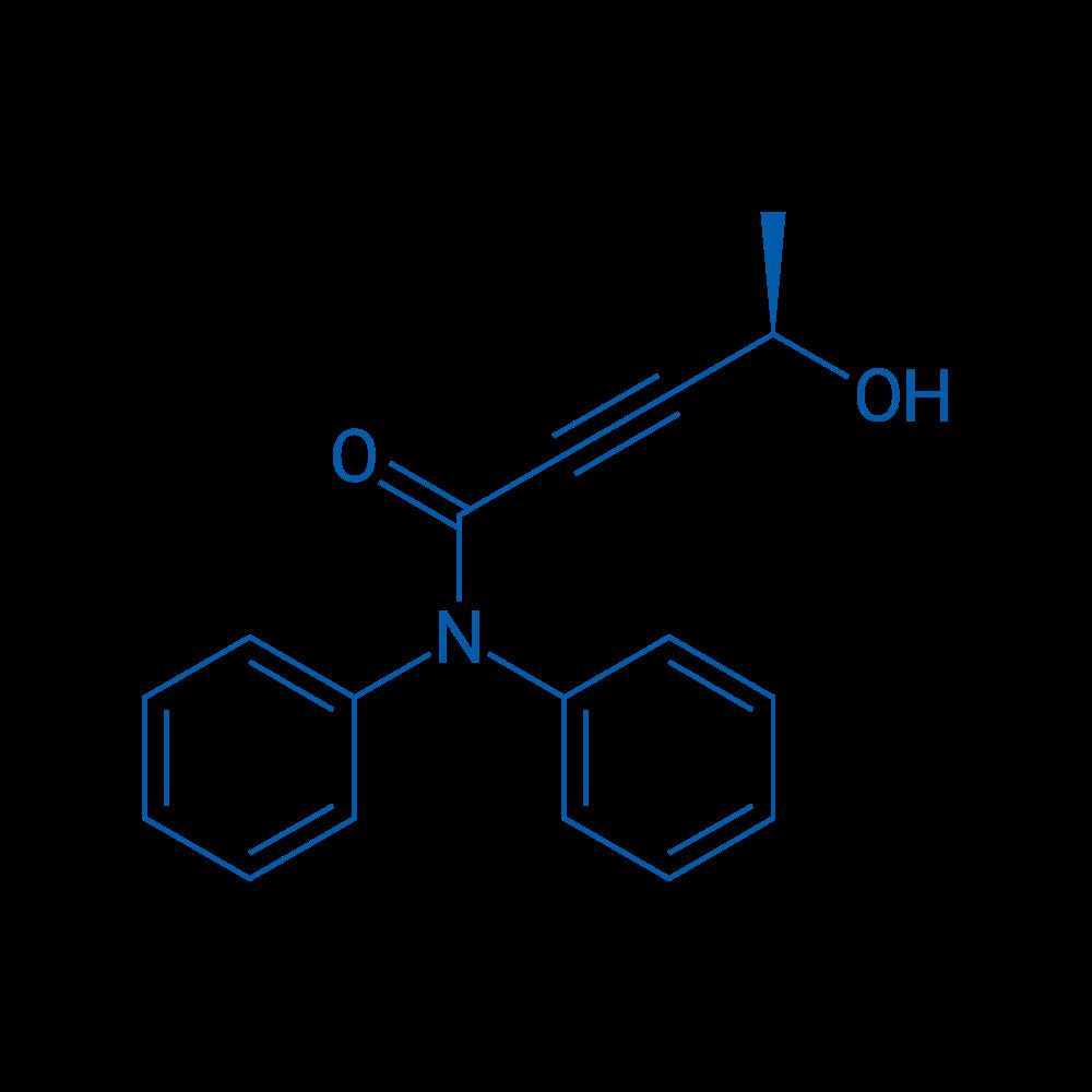 (R)-4-Hydroxy-N,N-diphenylpent-2-ynamide