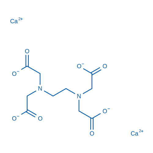 Calcium 2,2',2'',2'''-(ethane-1,2-diylbis(azanetriyl))tetraacetate