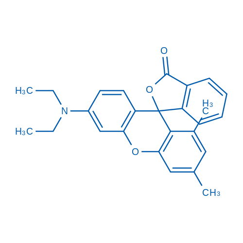 6'-(Diethylamino)-1',3'-dimethyl-3H-spiro[isobenzofuran-1,9'-xanthen]-3-one