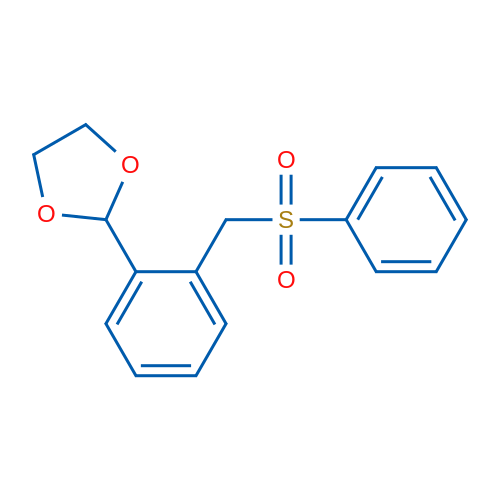2-(2-((Phenylsulfonyl)methyl)phenyl)-1,3-dioxolane