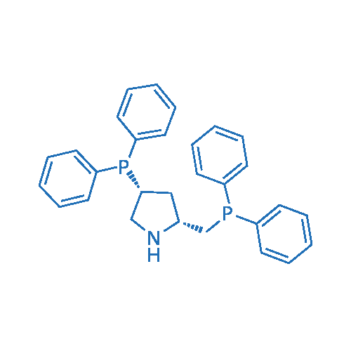 (2R,4R)-(+)-2-(Diphenylphosphinomethyl)-4-(diphenylphosphino)pyrrolidine