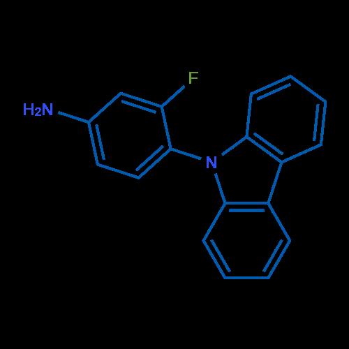 4-(9H-Carbazol-9-yl)-3-fluoroaniline