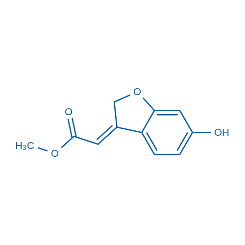 Methyl 2-(6-hydroxybenzofuran-3(2H)-ylidene)acetate