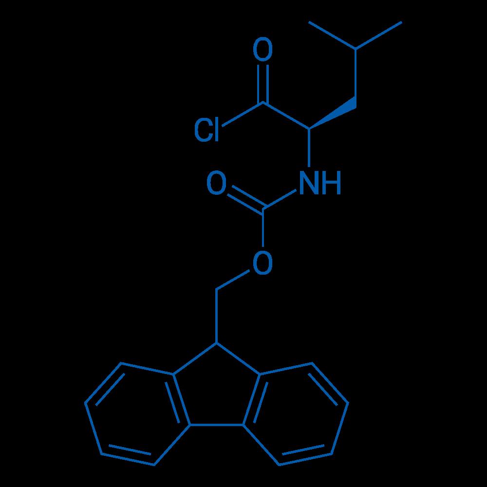 (R)-(9H-Fluoren-9-yl)methyl (1-chloro-4-methyl-1-oxopentan-2-yl)carbamate