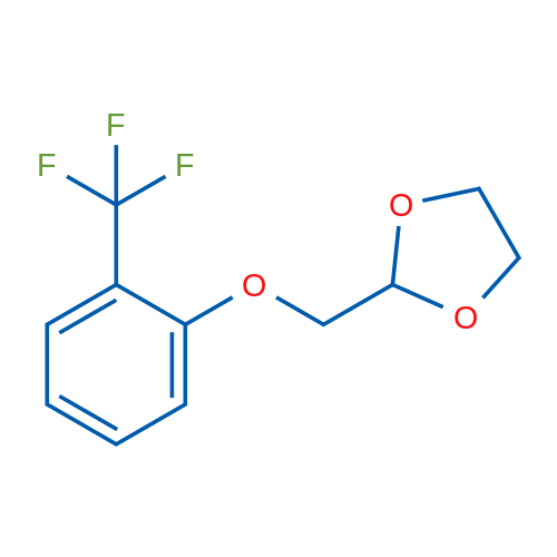 2-((2-(Trifluoromethyl)phenoxy)methyl)-1,3-dioxolane